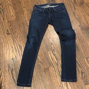Citizen of Humanity low rise jeans size 25